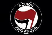 Bandera de Acción antifascista negra Maxi