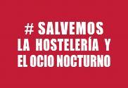 Bandeira do Salvemos la hostelería