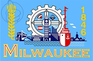 Bandiera di Milwaukee