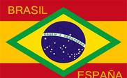 Bandiera di Brasil - España