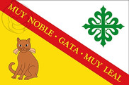 Bandera de Gata