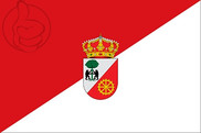 Bandera de Alcollarín