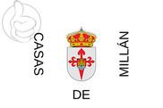 Bandera de Casas de Millán