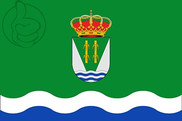 Flag of Valdecañas de Tajo