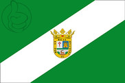 Bandeira do El Real de la Jara