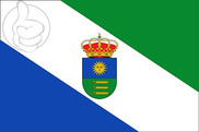 Flag of Llanos del Caudillo