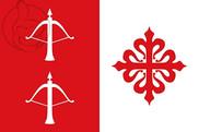 Flag of Ballesteros de Calatrava