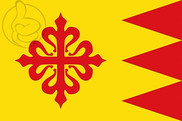 Flag of Puebla de Don Rodrigo