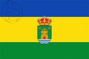 Bandera de Tíjola