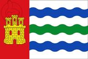 Bandera de Salinas del Manzano