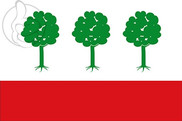 Bandera de Olombrada