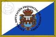 Bandeira do Provincia de Pontevedra