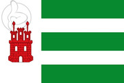 Flag of Alcalá de Moncayo