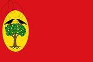 Bandera de Leciñena