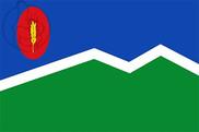 Bandera de Mediana de Aragón