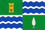Flag of Mequinenza