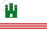 Bandera de Sant Vicenç de Castellet