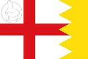 Bandera de Luesia