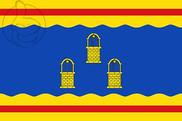 Bandera de Pozuelo de Aragón