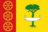 Bandera de Hoyos del Espino