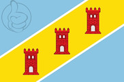 Flag of San Miguel de Cinca