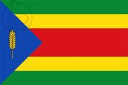 Bandera de Sangarrén