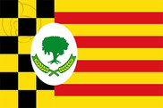 Bandera de Alcampell