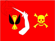 Bandeira do Pirata de Christopher Moody