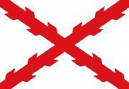 Bandera de Cruz de Borgoña