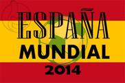 Bandera de España Mundial 2014