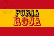 Drapeau Furia Roja