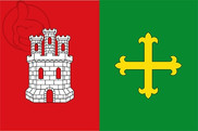 Bandera de Melgar de Yuso