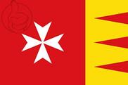 Bandera de Portomarín