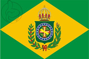 Flag of Empire of Brazil