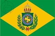 Bandera de Imperio de Brasil