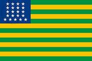 Bandera de Estados Unidos de Brasil