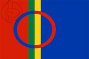 Bandera de Laponia