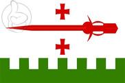 Bandeira do Akhaltsikhe