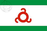 Bandera de Ingusetia