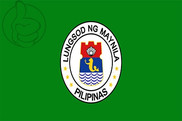Drapeau de la Manille