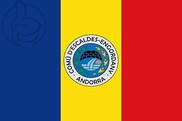 Bandiera di Escaldes-Engordany