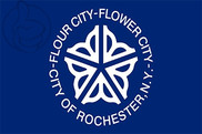 Flag of Rochester (New York)