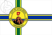 Bandera de Little Rock