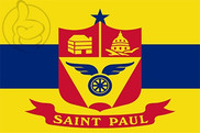 Bandera de Saint Paul