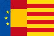 Bandera de Europa España Cataluña II