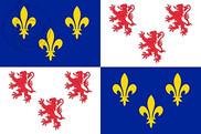 Bandera de Picardía