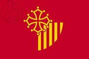 Bandera de Languedoc-Rosellón