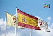 pack de Pacote bandeiras Espanha + Com.Autónoma + regional