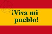 Bandera de Viva mi pueblo