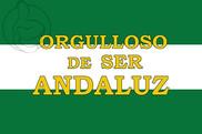 Bandera de Orgulloso de ser andaluz